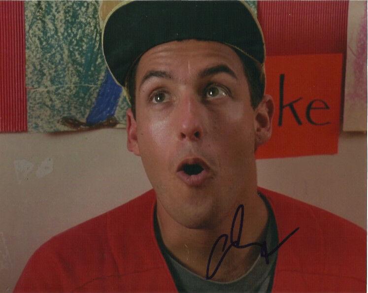 Adam Sandler Billy Madison Autographed Signed 8x10 Photo COA