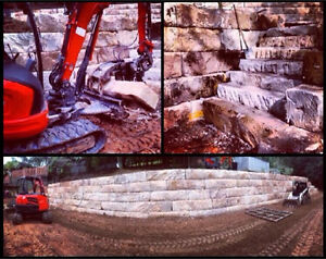 Sandstone Retaining Wall Specialist Gosford Gosford Area Preview