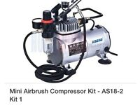 Mini air compressor kit AS18-2