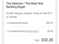 THE SELECTER / THE BEAT FT . RANKING ROGER