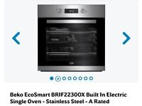 Beko fan assisted intergrated oven