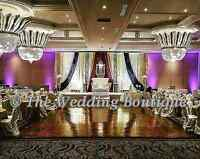 ¤¤¤BANQUET HALL WEDDING BACKDROPS BY THE WEDDING BOUTIQUE ¤¤¤