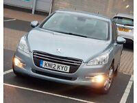 *Low Mileage* Peugeot 508 1.6 e-HDI Automatic FSH, HPi Clear 2 Keys NOT honda accord, toyota avensis