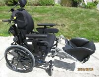 FOR SALE--Invacare Solara 3G Tilt in Space Manual Wheelchair