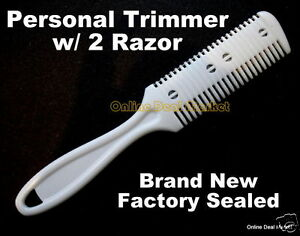 Personal-Razor-Blade-Comb-Hair-Trimmer-Cleaner-Cutting