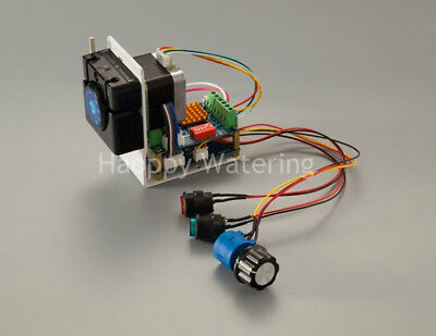 Dc Peristaltic Pump With Stepper Motor Flow Adjustable Pump Self-priming