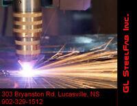 Welding, CNC Plasma Cutting, Steel Fabrication