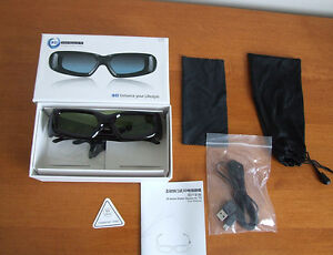 3D Active Glasses for Plasma or LCD, Universal, Sony, Panasonic