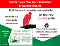 First Aid with CPR and AED Training in Kemptville
