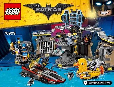 NEW LEGO BATMAN MOVIE SET 70909 BATCAVE BREAK IN PENGUIN BRUCE WAYNE BATSUIT