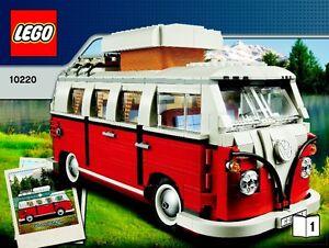 LEGO Creator Expert 10220 Volkswagen T1 Camper Van Building TOY SET