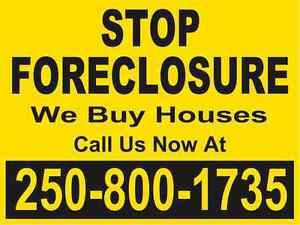 SAVE YOUR CREDIT, STOP FORECLOSURE, WE CAN HELP