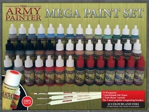 Army Painter Paint - Warpaints Mega Paint Set ** BESTSELLER UPDATED !!**