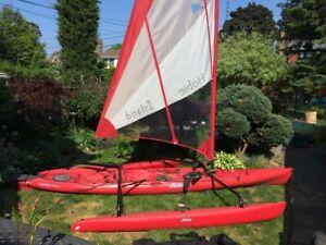 Hobie Island Sailing Kayaks