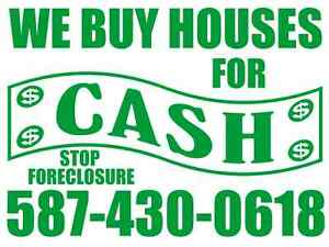 # Need money? Need to move? We buy houses FAST!