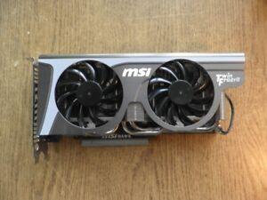 MSI 1.0 GB Graphics card sale