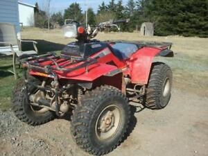 Wanted older honda quad or trike or any snow machine.