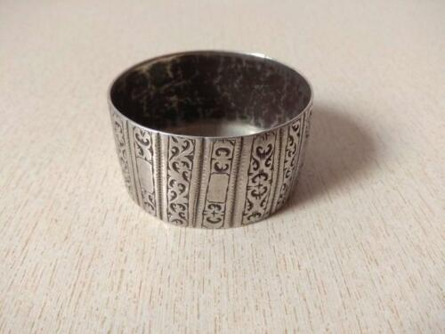 Antique Silver Berber Bracelet from Morocco
