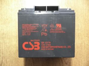 Used CSB battery for UPS
