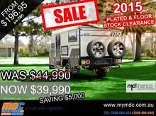 MDC 2015 XT-12 Off Road Hybrid Touring Pop Top Caravan Kunda Park Maroochydore Area Preview