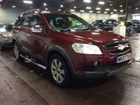 2007 Chevrolet Captiva 2.0 VCDi LTX 5dr (7 Seats) Diesel red Automatic