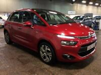 2013 Citroen C4 Picasso 1.6 e-HDi Exclusive 5dr Diesel red Manual