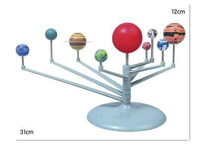 Hot DIY The Solar System Nine planets Planetarium Model Kit Science Astronomy