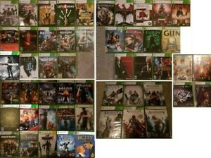 XBOX 360 Action Adventure games (Various Prices)