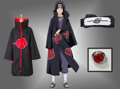 Stirnband ring ninja Anime Cosplay Kostüm Akatsuki Mantel (Kostüm Stirnband)
