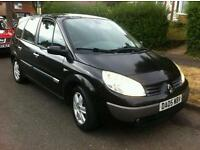 7 Seater. Renault Grand Scenic 1.6 Petrol.Very Good Runner.
