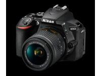NIKON D5600+LENS 18-55+SD 64GB+UV FILTER