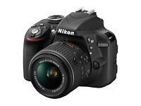 BRAND NEW NIKON D3300 DSLR CAMERA WITH 18-55mm lens
