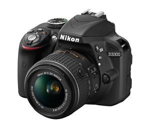 Nikon D3300 body, lenses AND accessories