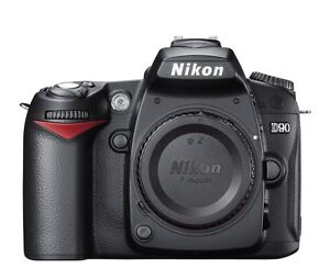 Nikon D90 DSLR Camera (Body Only) + Strap, Battery and Charger