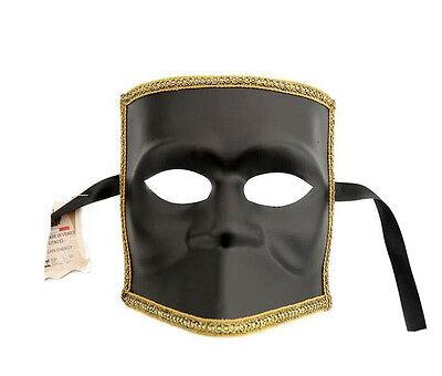 Mask Venice Bauta Black - Mask Venetian Authentic 348