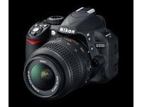 Nikon D3100 + 18-55 mm lens + spare battery + original Nikon bag + original Nikon box