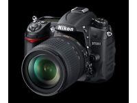 Nikon D7000 + 18-105mm AF/VR + 80-200mm + accessories