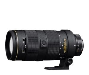 NIKON AF-S 80-200mm f2.8 D ED lens in excellent condition