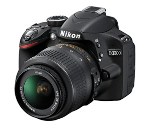 Nikon DSLR 3200 with accessories (Open to Negotiation)