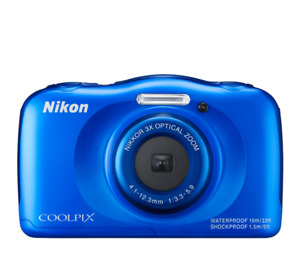 Nikon COOLPIX S33 Waterproof for photos near or under water 13Mp
