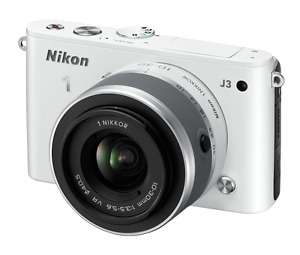 Nikon 1 Camera (white) still in box