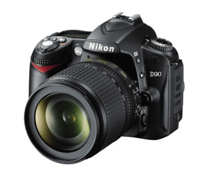 Nikon D90 12.3MP Camera with 18-105 mm f/3.5-5.6G ED AF-S VR DX