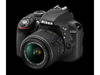Nikon D3300 18-55mm AF-P VR Kit - Black