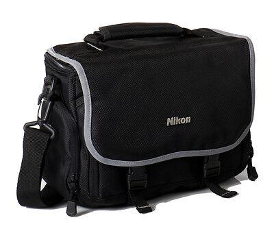 Nikon Compact Gadget Bag with Dividers for Digital SLR Camera - Black