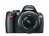 Nikon D60 10.2MP Digital SLR Camera, Lens & Accessories + Guide Book - Low Shutter Count (8489)