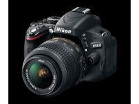 Nikon D-5100 camera + 18-55 Lens