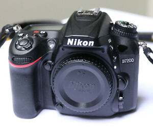 Nikon D7200 body in mint condition 16492 shutter count
