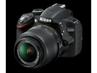 I sell semi-profesional digital camera Nikon D3200. Good conditions.