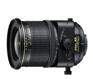 """NIKON objectif Nikkor """"N"""" PC-E 24mm f/3.5D ED"""