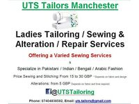Ladies Tailoring/Stitching/Sewing/ Alterations/Repairs Services (Pakistani Indian Bengali & varied)
